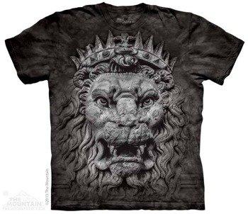 koszulka THE MOUNTAIN - BIG FACE KING LION, barwiona