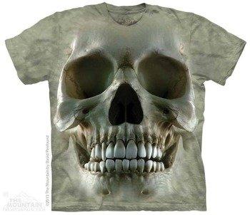 koszulka THE MOUNTAIN - BIG FACE SKULL, barwiona