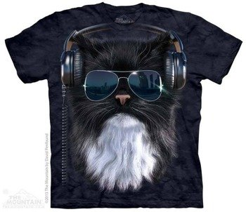 koszulka THE MOUNTAIN - COOL CAT, barwiona