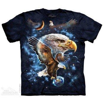 koszulka THE MOUNTAIN - COSMIC EAGLE, barwiona