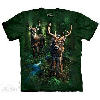 koszulka THE MOUNTAIN - DAPPLED DEER, barwiona
