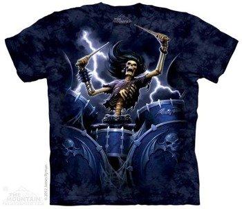 koszulka THE MOUNTAIN - DEATH DRUMMER, barwiona