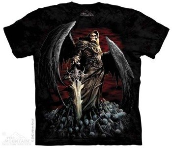 koszulka THE MOUNTAIN - DEATH WISH, barwiona