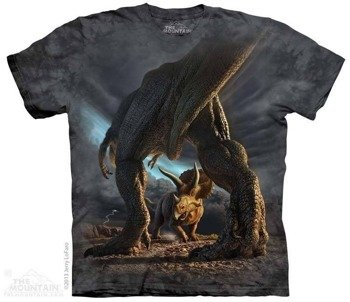 koszulka THE MOUNTAIN - DINO, barwiona