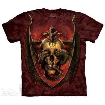 koszulka THE MOUNTAIN - DISSENT DARK FANTASY, barwiona