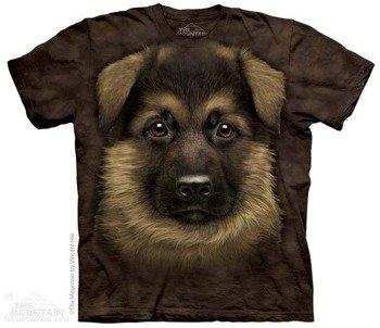 koszulka THE MOUNTAIN - GERMAN SHEPHERD PUPPY, barwiona