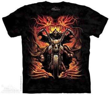 koszulka THE MOUNTAIN - GRIM RIDER, barwiona