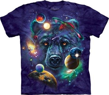 koszulka THE MOUNTAIN - GRIZZLY COSMOS, barwiona