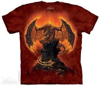 koszulka THE MOUNTAIN - HARBINGER OF FIRE, barwiona
