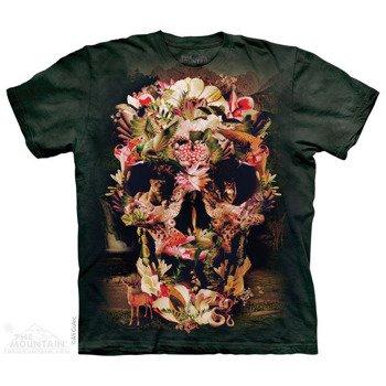 koszulka THE MOUNTAIN - JUNGLE SKULL, barwiona