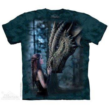 koszulka THE MOUNTAIN - ONCE UPON A TIME, barwiona