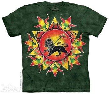 koszulka THE MOUNTAIN - ONE LOVE BATIK, barwiona