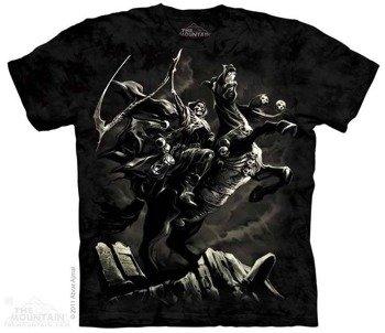koszulka THE MOUNTAIN - PALE HORSE, barwiona