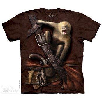 koszulka THE MOUNTAIN - PIRATE AND HOWLER MONKEY, barwiona