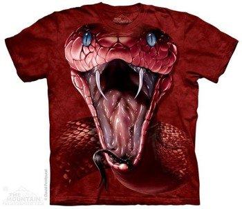 koszulka THE MOUNTAIN - RED MAMBA FACE, barwiona
