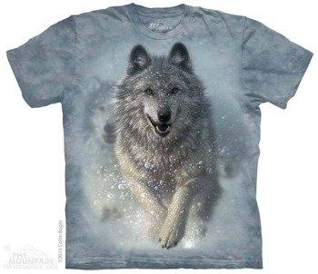koszulka THE MOUNTAIN - SNOW PLOW, barwiona