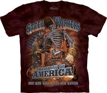 koszulka THE MOUNTAIN - STEEL WORKERS, barwiona