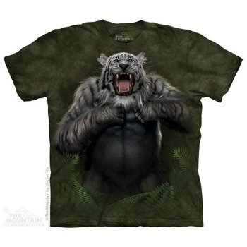 koszulka THE MOUNTAIN - TIGERILLA, barwiona