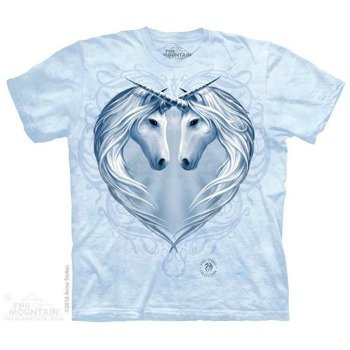 koszulka THE MOUNTAIN - UNICORN HEART, barwiona