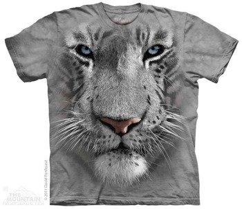koszulka THE MOUNTAIN - WHITE TIGER FACE, barwiona