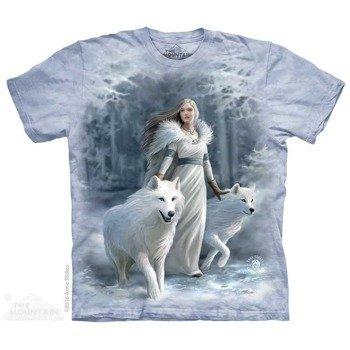 koszulka THE MOUNTAIN - WINTER GUARDIANS, barwiona