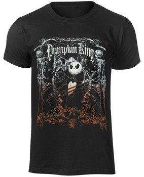 koszulka THE NIGHTMARE BEFORE CHRISTMAS - FENCED IN JACK (PUMPKIN KING)