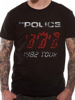 koszulka THE POLICE - WORLD TOUR