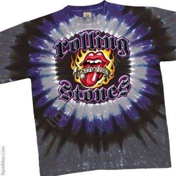 koszulka THE ROLLING STONES - TATTOO YOU STUD barwiona