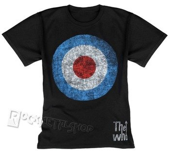 koszulka THE WHO - TARGET DISTRESSED