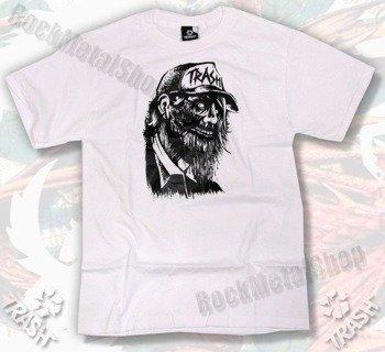 koszulka TRASH ZOMBIE SMIECIARZ biała