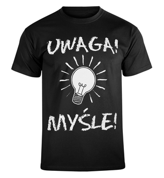 koszulka UWAGA! MYŚLE!