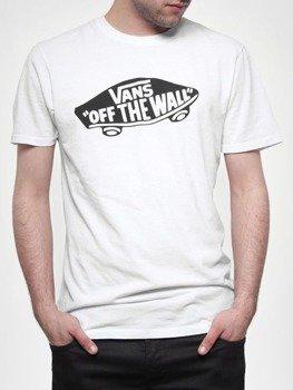 koszulka VANS - OTW WHITE BLACK