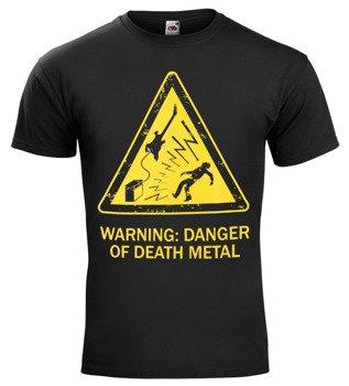 koszulka WARNING: DANGER OF DEATH METAL