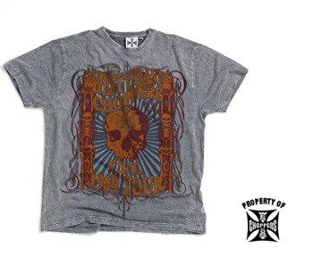 koszulka WEST COAST CHOPPERS - ROCKSTAR (WCCTS10208ZW)