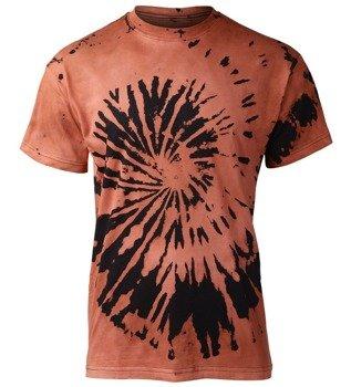 koszulka barwiona BLACK ORANGE MIX