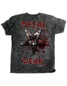 koszulka barwiona PENTAGRAM METAL WEAR