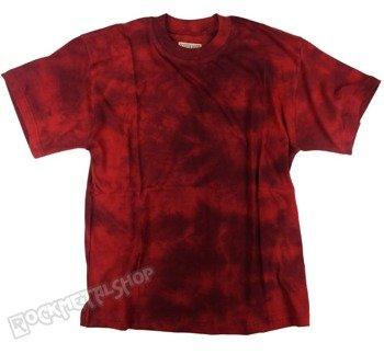 koszulka barwiona RUNNING BEAR / RED