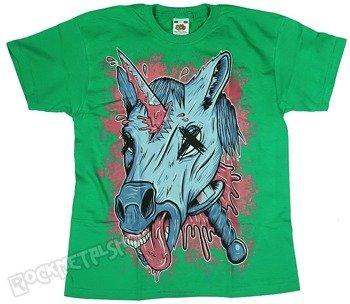 koszulka dziecięca BLACK ICON - UNICORPSE zielona (JICON105GREEN)