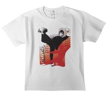 koszulka dziecięca BRUCE LEE -  KICK IT