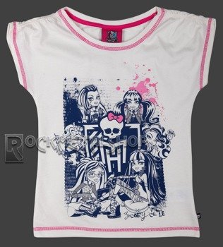 koszulka dziecięca MONSTER HIGH - SCARY CUTE dla dziewczynki