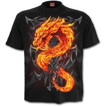 koszulka dziecięca SPIRAL - FIRE DRAGON