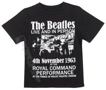 koszulka dziecięca THE BEATLES - LIVE IN PERSON