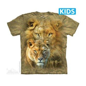 koszulka dziecięca THE MOUNTAIN - AFRICAN ROYALTY, barwiona