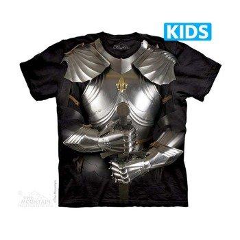 koszulka dziecięca THE MOUNTAIN - BODY ARMOR, barwiona