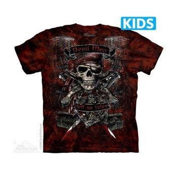 koszulka dziecięca THE MOUNTAIN - DEAD MEN, barwiona