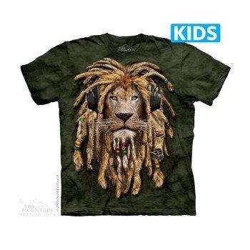 koszulka dziecięca THE MOUNTAIN - DJ JAHMAN, barwiona
