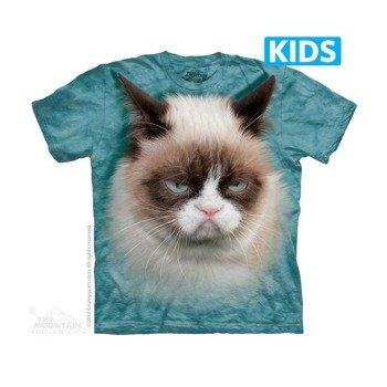 koszulka dziecięca THE MOUNTAIN - GRUMPY CAT, barwiona