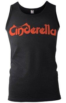koszulka na ramiączkach CINDERELLA - RED LOGO