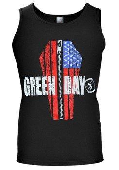koszulka na ramiączkach GREEN DAY - COFFIN FLAG