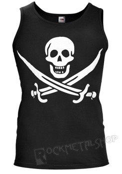 koszulka na ramiączkach PIRATE SKULL